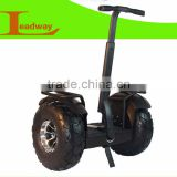 Leadway dual motor folding gas scooter big wheels for adult ( W5L-T84)