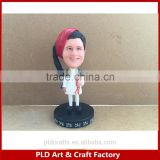 Factory Making Polyresin Doll/Factory directly Sales Bobblehead /Customized Bobbleheads figurine