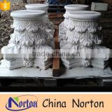 carved craft stone architectural decorative pillar caps NTMF-CP016Y