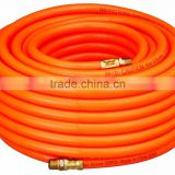 high quality excellent tensile strength flexible orange PVC tube for car washing industry