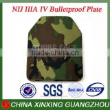 NIJ III IV Level Bulletproof Plate Anti-ballistic Ceramic Plate with testing report