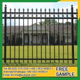 New design cheap factory metal fencing iron fence for sale