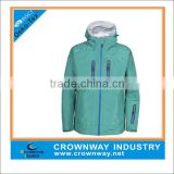 Mens hooded lightweight windbreaker jacket 100% polyester