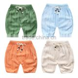 YE9901 summer 2017 children trousers bamboo cotton lanterns kids shorts