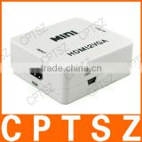 HDMI to Component Video mini hdmi to vga with audio converter