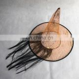 CG-PH185 Witch hat with fake hair
