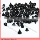 black titanium plated body piercing jewelry bars accesssories cheap wholesale hot sale cone