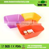 2015 new product plastic square plate