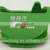 custom size soft pvc/rubber cellphone holder for desktop
