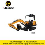 FE22 earth-moving mini crawler excavators