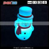 Most polpular christmas decorations indoor led light up snowman