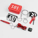 Outdoor Emergency Survival Kit SOS Survival Tool for Camping Hiking