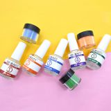 Hot selling nail acrylic powder glitter match dip powder and gel polish liquid and powder nails