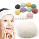 Natural konjac wash flapping Makeup Remover Cleansing bashing wash sponge Konjac cleansing wash flutter