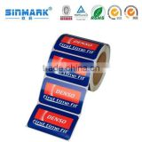 Packaging Adhesive Paper Sticker Printing / Custom Printed Labels Sticker / Water Bottle Label Sticker