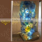 Fashion style murano glass abstract art sculpture