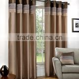 living room luxury embroidery wholesale window curtain