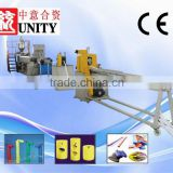 China-made High cost-effective Plastic PE foam Stick extrusion machinery With CE Approved