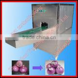 High efficiency automatic onion root removing machine 008615138669026