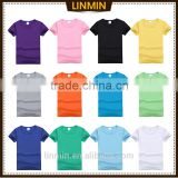 t shirt wholesale china 100 cotton men blank t-shirt stocking