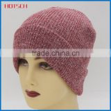 100% acrylic winter cheap knitted beanies