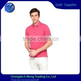Classic Style Mens New Design Embroidery Dry Fit Sports Shirt