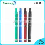 Cheap price top quality 650mAh battery LCD scrren dry herb vaporizer ago g5