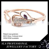 High polished (bling-bling) bangles gold plated jewelry wholesale pakistan fashion girls gold bangle