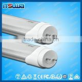 two pin T8 LED tube light for traditional tube fixture without electronic ballast