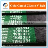 Plastic rubber pulley v belts