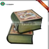 Quality cardboard book box , fake book shaped box for storage and packaging