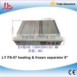 Lastest product FS-07 liquid nitrogen frozen and heating 2 in 1 Separator build in vacuum pump 220V 1000W