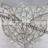 crystal votive centerpiece, crystal t-light holder, crystal ball centerpiece for home decoration