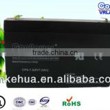 Sealed Lead acid battery /Solar Battery/Eemergency light battery/Rechargeable battery/6V7AH Solar Power Batter/Gel Battery