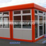 100% Manufacturer made in China duable Container restaurant , mobile shop design,prefabricated restaurant building