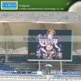 Alibaba express PH12mm outdoor full color video cricket live scoreboard led display screen