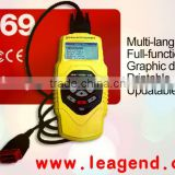 Multi-Language Universal Auto/Car/Vehicle OBDII/OBD2/EOBD/JOBD Diagnostic Scan Tool T69 -- Original Factory price