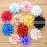 New style mixed colors peony flower clip ! girl hair flower !children hair accessory CB-3357