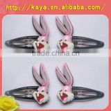 Eco-friendly custom design promotional plastic hairpin