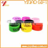 Customs Design Fashion Silicone Wedding Ring, Silicone Printed/Embossed/Debossed Rubber Wedding Rings