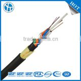 2 4 6 12 24 48 60 72 96 144 core Outdoor single mode armored self support aerial Fiber Optic Cable ADSS
