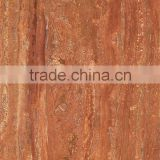 Foshan red travertine floor tile 600*900mm