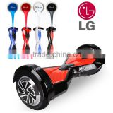 2016 hot self balancing electric scooter bluetooth 8 inch hoverboard with LG battery Ancheer EU plug AM002730