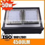 High power factory price 100w wall pack led lighting 50w