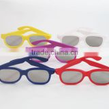 3D-World diffraction glasses,Plastic Rainbow Fireworks Glasses, 3DW-DF105
