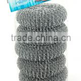 China set of 4 pc 35g galvanized mesh ball stainless steel scourers                                                                         Quality Choice