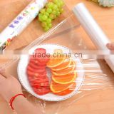30cm*30m 35cm*30m 40cm*60cm 40cm*100m food grade PE Plastic wrap with point segment or dispenser cutter