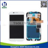 Original LCD Digitizer Assembly for Motorola Moto X XT1058 LCD Touch Screen with Frame
