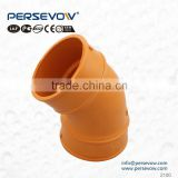 sanitary used 45 degree unqueal tee 2 inch pvc pipe fittings