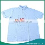 M Hanes ComfortSoft Cotton Pique Men's plain polo shirts 055X Light Blue